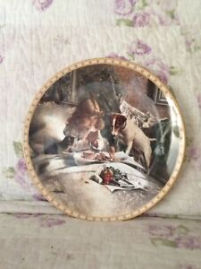 Franklin Mint BREAKFAST IN BED plate Boondall Brisbane North East Preview