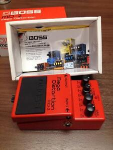 BOSS MD-2 MEGA Distortion guitar pedal