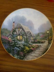 Collector's Dish- Chandler's Cottage by Thomas Kinkade