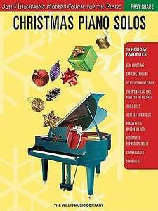 Christmas Piano Solos: First Grade (John Thompson's Modern Course for the Piano)