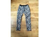 Four pair of ladies gym trousers size 10