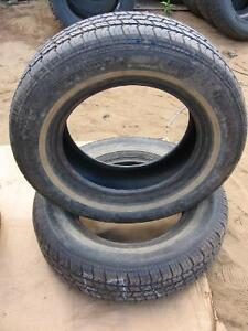 2 MATRIX MULITIMILE  USED 215/70R15 TIRES reference E7A