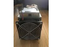 Antminer s7 with psu fully working