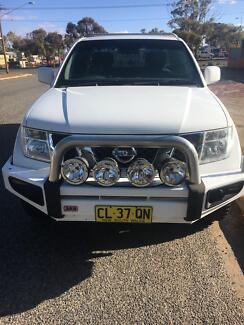 2011 Nissan Navara Ute King Cab