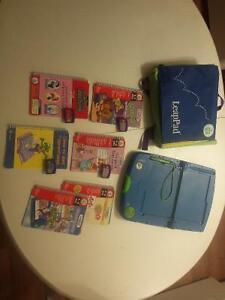 Leapster LeapPad avec jeux et et plus