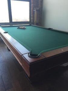 Andrew Gille Collection Pool Table