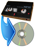 Service to convert PAL(Europe/Asia) camcorder videotapes to DVD