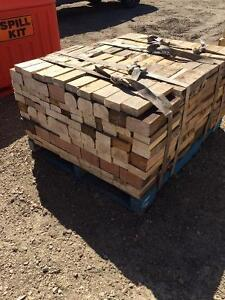 Large pallets of cut Stove, Fireplace or camp fire wood.