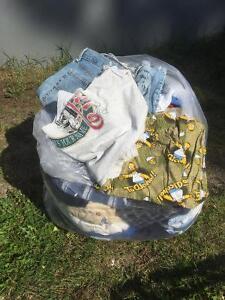 Men's clothing, size large.  jeans 34 waist. EUC, sfh