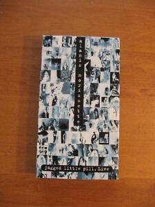 VHS-Alanis Morissette Jagged little Pill, Live (1997)
