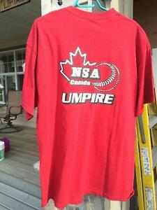 NSA Umpire Clothing