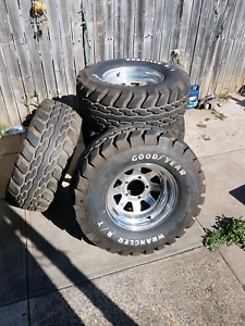 4x4 rim and tyres set of 5 Cabramatta West Fairfield Area Preview