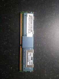 HP 4GB DDR3 ECC Server Memory PC2-5300F