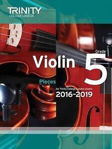 VIOLIN EXAM PIECES 2016-19 GR 5 VLN/PNO