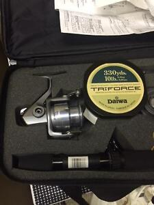 Travel Daiwa fishing kit Peterborough Peterborough Area image 3