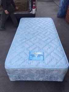 2xComfortable king single size base with mattress , can delivery Blackburn South Whitehorse Area Preview