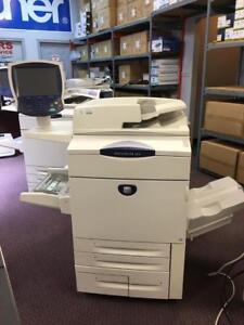 Xerox DocuColor DC 252 Colour Production Printers Photocopiers Copy Machine Scanner Colour Print copy scan Finisher Book