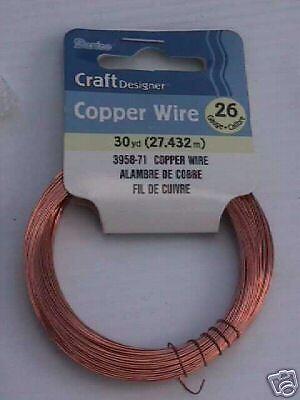 (Darice Copper 26 Gauge Bead Craft  Wire 90 ft)