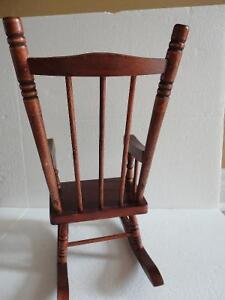 Wooden decorative rocking chair for display decor purpose London Ontario image 4