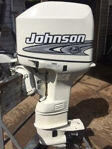25HP Johnson Outboard Tiller Electric - RANDY (905) 703-5622