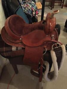 Custom Welsh Barrel Saddle