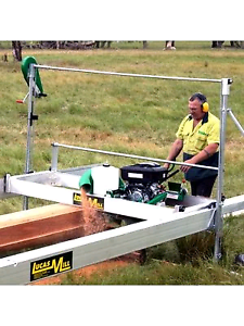 Portable custom sawmill services For hire in spring