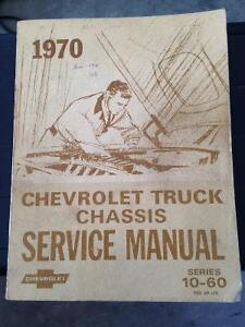 Original 1970 Pick Up Maintenance Manual