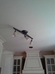 Luminaire (Track ) plafond et luminaire suspendu