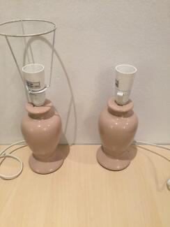 Two matching porcelain lamp bases ($5 for both!)