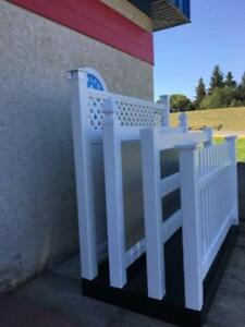 SAVE BIG $$$ on PVC vinyl fence