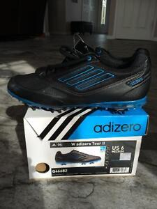 Ladies size 6 Adizero Golf Shoes-Brand new