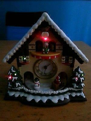 avon vintage christmas musical clock - Musical Christmas Clock