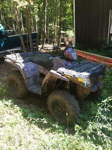 Camo 2005 Polaris sportsman 4x4 500HO Kawartha Lakes Peterborough Area image 1