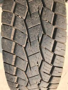 One LT275/70R18 Toyo A/T Open Country Tire 90%+ 10 ply