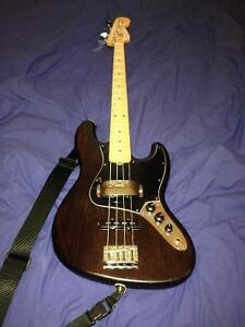 FOR TRADE: American Standard Limited Edition Fender Jazz Bass