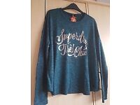 WOMENS SUPERDRY TOP