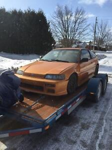 Undated List - 1988 Honda CRX Si Complete Part Out