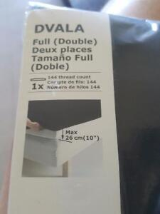 2 new double fitted sheets