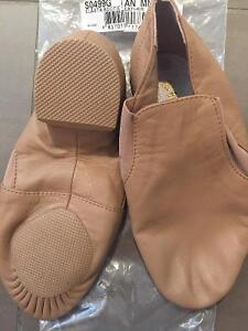 Brand-new beige leather jazz shoes size 2 London Ontario image 3
