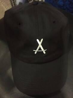A baseball cap hat brand new black