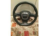 Audi s line steering wheel from 2011 audi