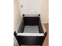 Hauck Dream N Play Travel Cot - virtually brand new