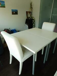 2 Henriksdal Chairs with Washable Covers