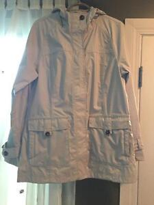 Women's LARGE North Face Hooded Coat