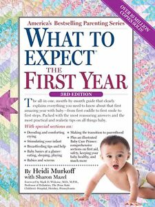 New Book what to expect the first year by Heidi Murkoff