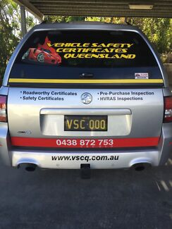 VEHICLE SAFETY CERTIFICATES QUEENSLAND