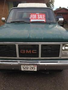 1985 GMC Pickup Truck with Topper & 2 extra doors
