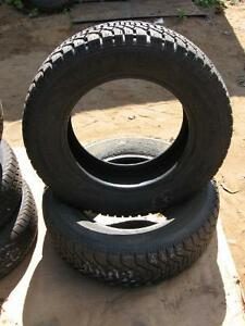 2 GOODYEAR NORDIC 205/65r15 tires reference AAA2