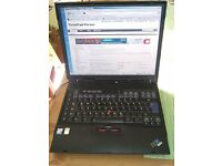IBM THINKPAD LAPTOP-WINDOWS 7 -MS OFFICE 2013-EXCELLENT CONDITION-DVD-WIFI-FREE DELIVERY