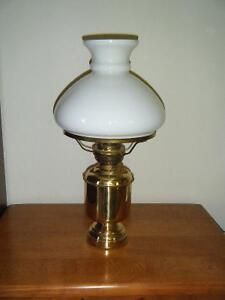 Solid brass oil lantern